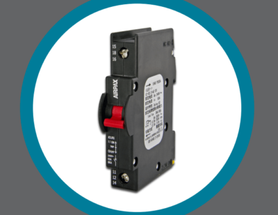 Airpax ICL Series Rail-Mount Hydraulic Magnetic Circuit Breakers