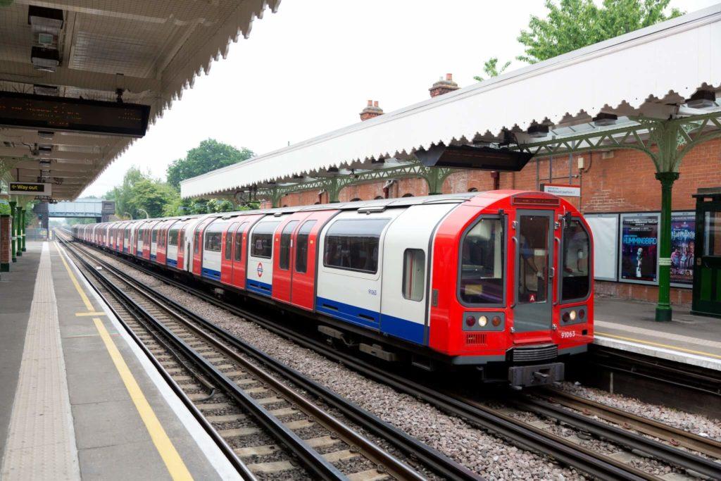London Underground's Central Line Train