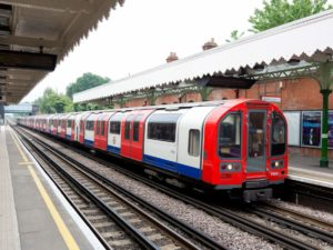 London Underground's Central Line Train