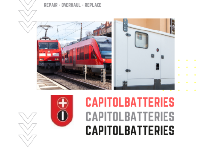 Capitol Industrial Batteries Rail Repair Ovehaul Replace