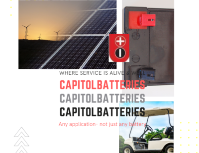 Capitol Industrial Batteries for Any Application