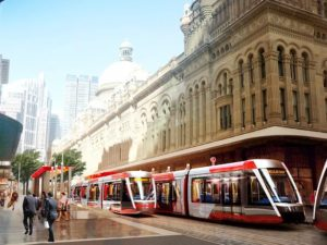 Citadis X05 light rail vehicle
