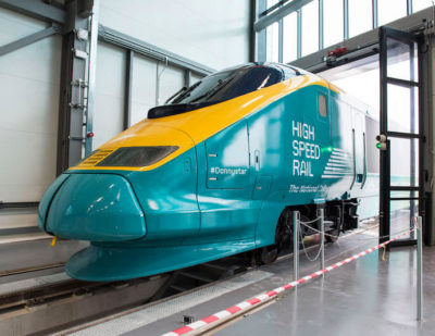 Donated Eurostar Delivered to National College for High Speed Rail