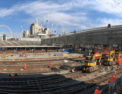 Major Improvement Works Get Under Way at London Waterloo