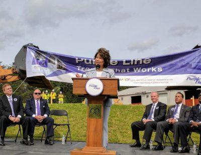 USDOT Announces $900 Million for Maryland Purple Line Project