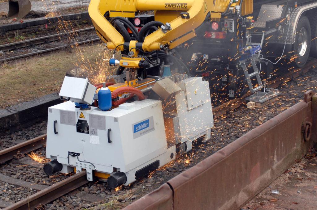 Railway News Mobile Rail Welding System Ams200 For