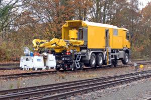 Mobile Rail Welding Systems Supra Multiflex and Supra Roadflex