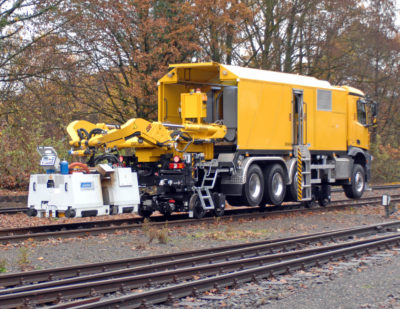 Mobile Rail Welding Systems Supra Multiflex and Supra Roadflex