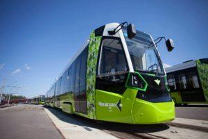 Stadler Delivers First Batch of Metelitsa Trams for St. Petersburg