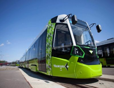 Stadler Delivers First Batch of Metelitsa Trams for St. Petersburg