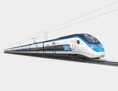 "Stadler's First High-Speed Train Branded ""SMILE"""