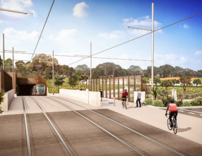 Sydney Light Rail Construction Reaches Breakthrough Moment