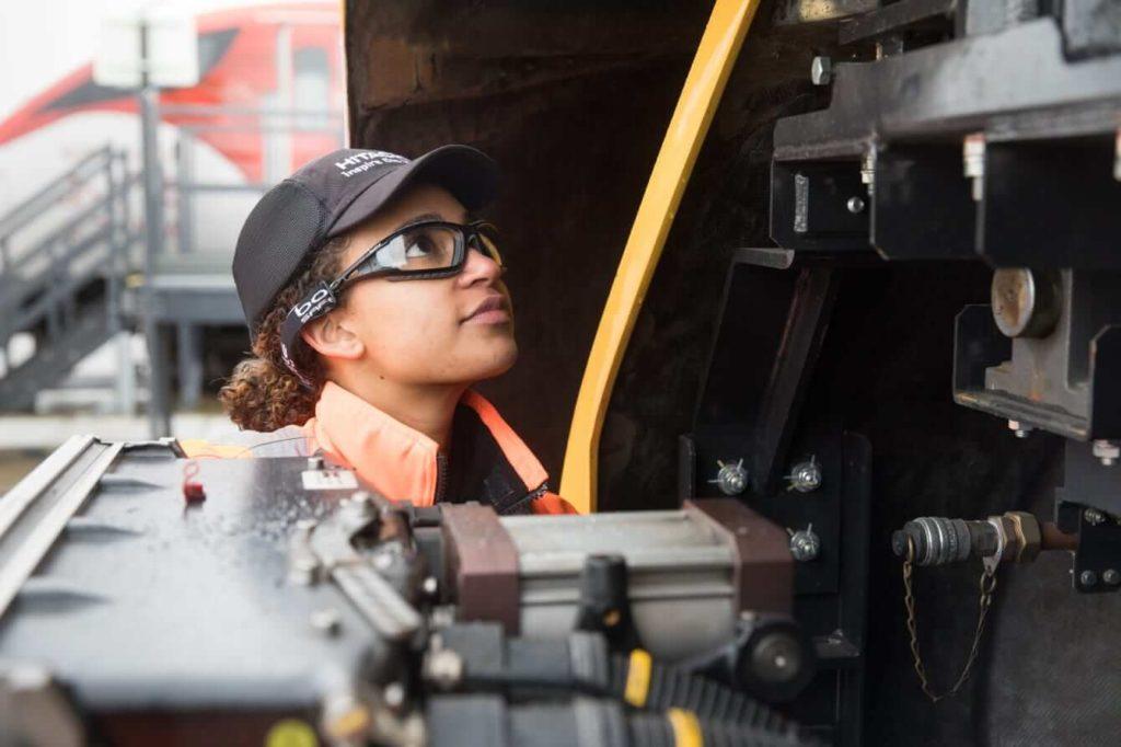 Hitachi Rail Train maintenance