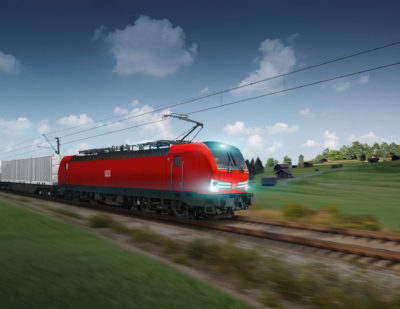 Deutsche Bahn Orders 100 Vectron Locomotives from Siemens