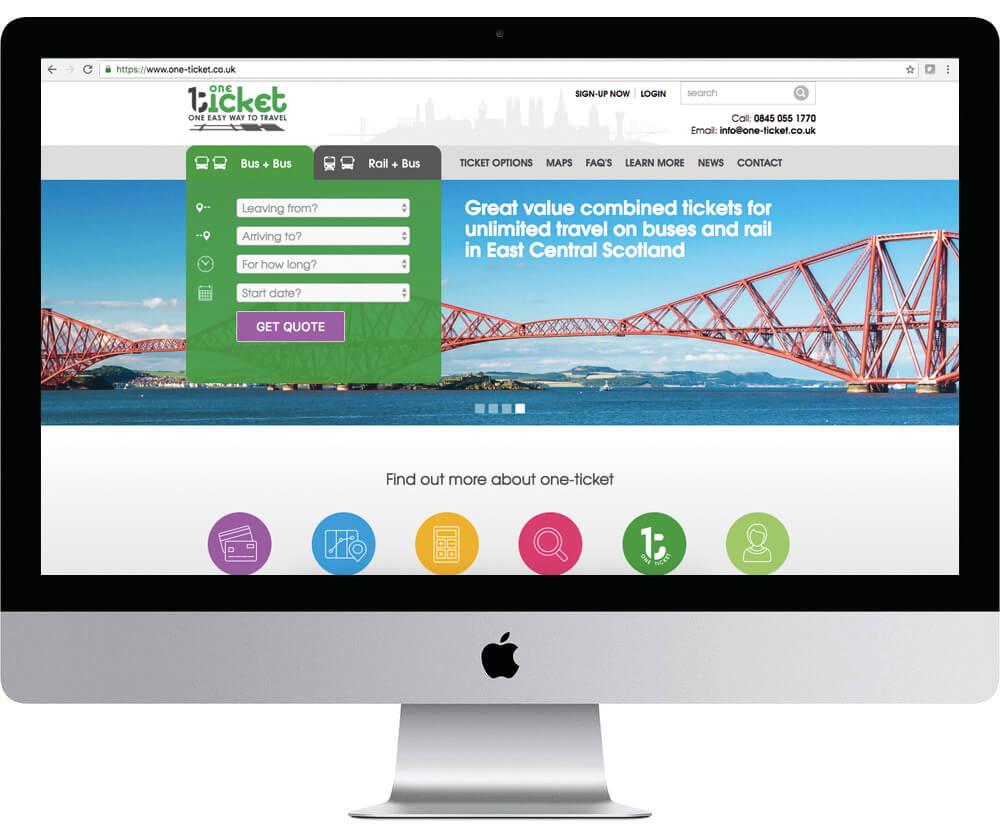One Ticket Website
