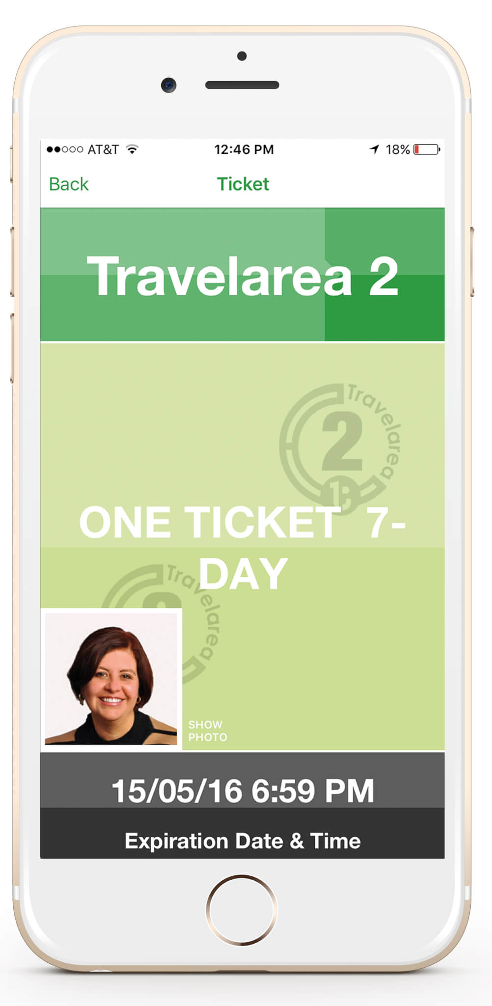 Photo ID for Mobile Ticketing