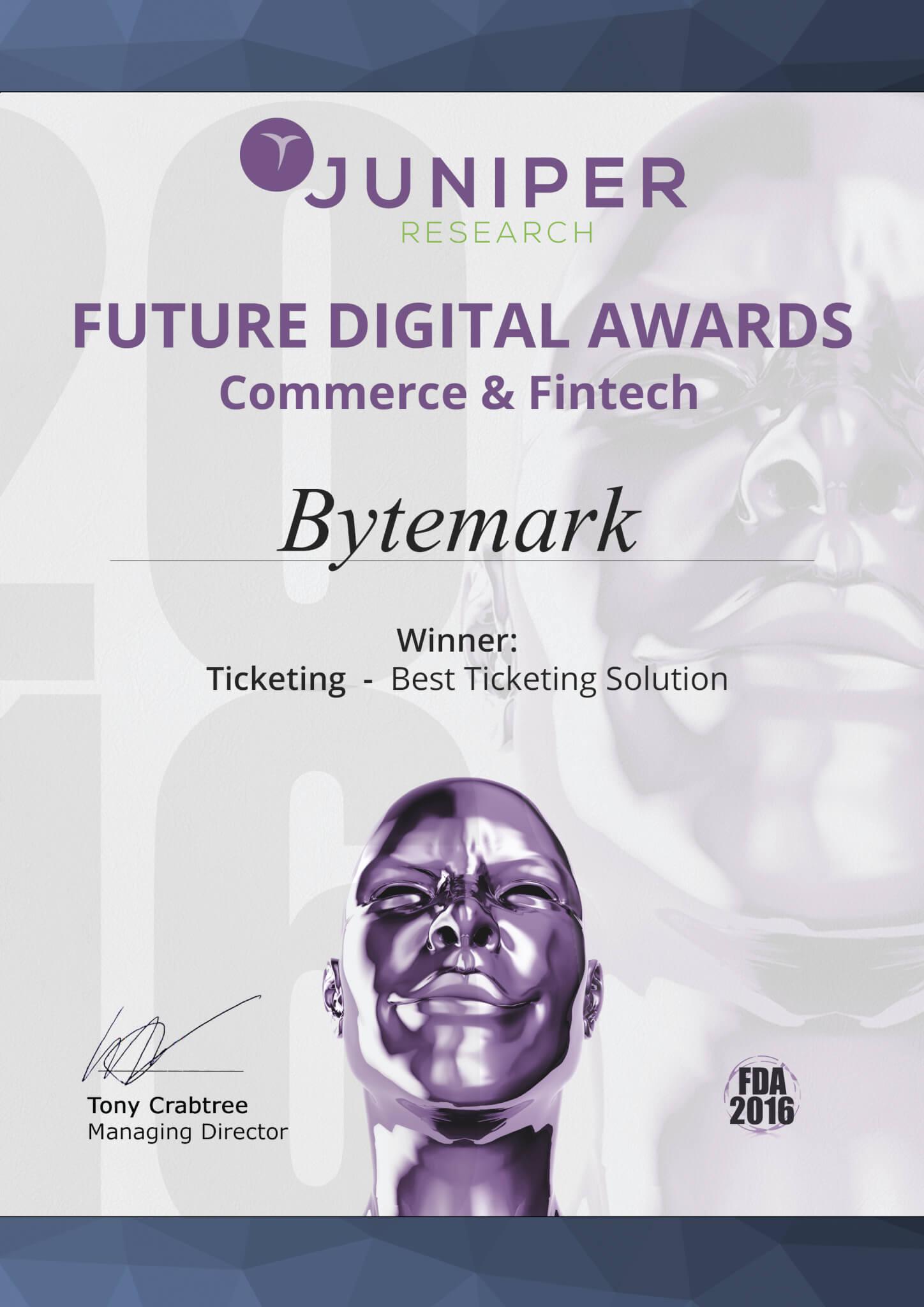 Best Ticketing Solution Award