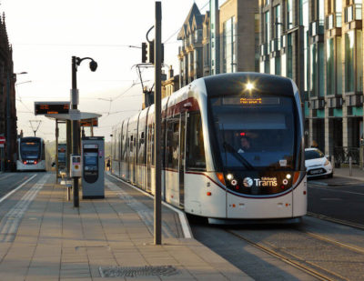Tender Process Launched for Edinburgh Tram Extension