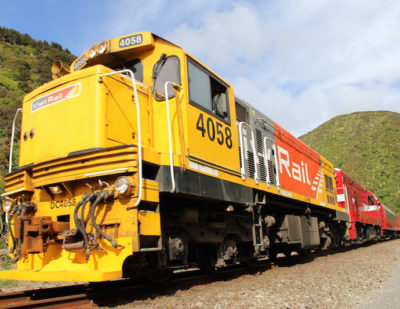 KiwiRail Announces First Post-Quake Freight Services