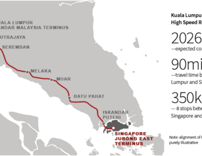Singapore Forms New High-Speed Rail Infrastructure Company