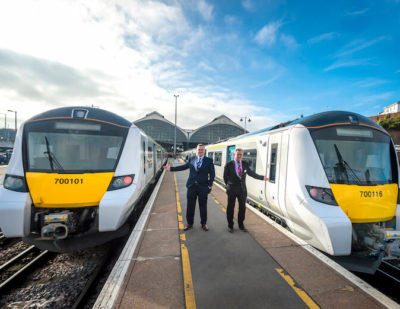 Brand New Trains in Full Operation Across Thameslink Route