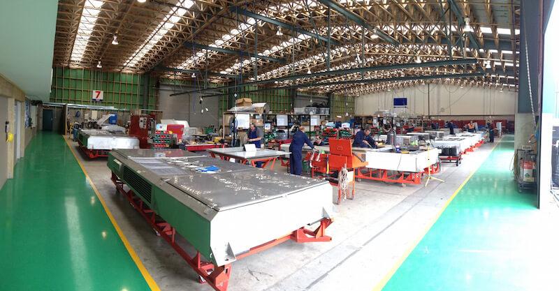 Noske-Kaeser Rail & Vehicle Maintenance of Rail HVAC Units
