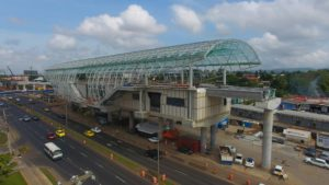 Construction of Panama Metro Line 2 Passes Halfway Mark