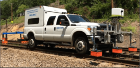 Railway Asset Scanning Car system