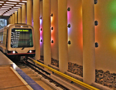 Rotterdam Metro Equipped with Modern Passenger Information Systems