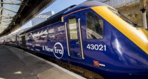 First High-Speed Train Arrives in Scotland