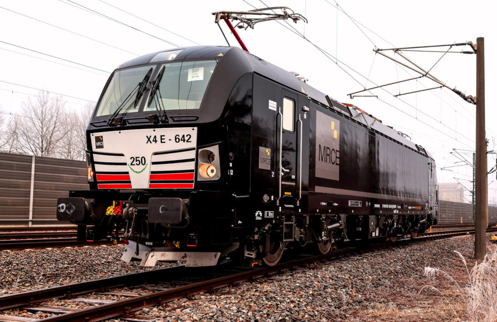 Siemens Vectron locomotives
