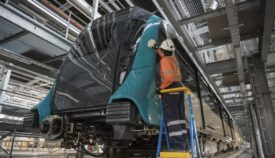 Sydney's first metro train