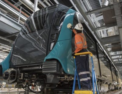 First Driverless Train Delivered to Sydney Metro