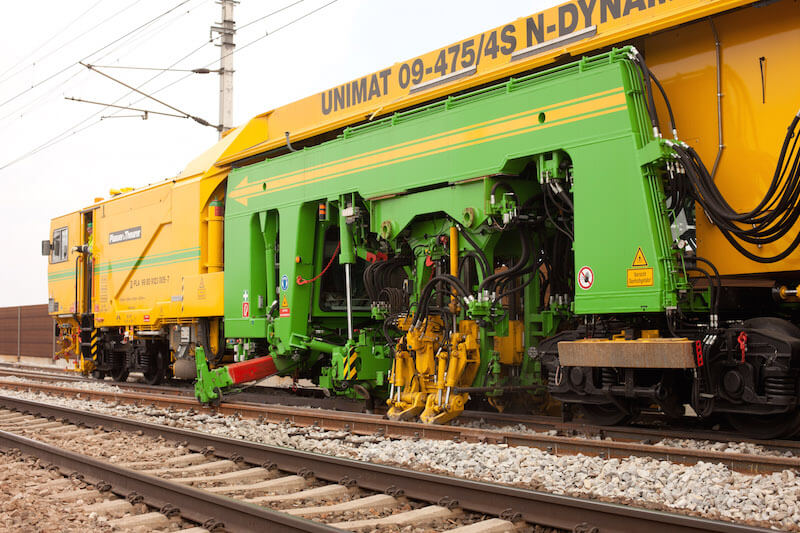 Track Maintenance Tamping Machine