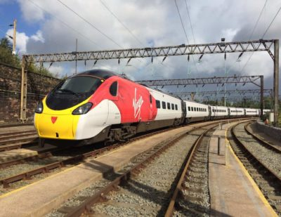 New Lick of Paint for Virgin Trains' Iconic Pendolino
