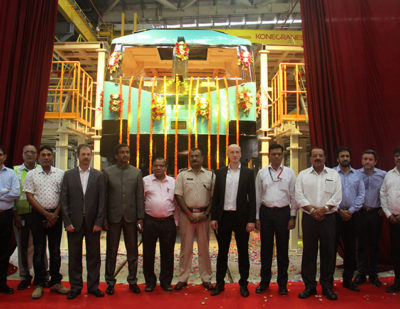 Production Begins at India's First Electric Locomotive Manufacturing Facility