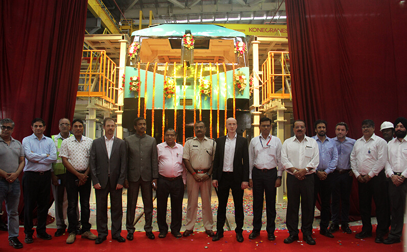 India's First Electric Locomotive Manufacturing Facility
