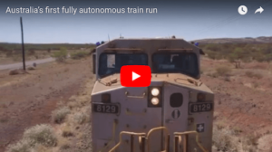 Autonomous Freight Train Completes Test Run in Australia