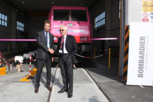 Bombardier Transportation Opens New Rail Maintenance Depot in Italy