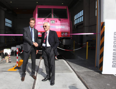 Bombardier Transportation Opens New Rail Maintenance Depot in Italy