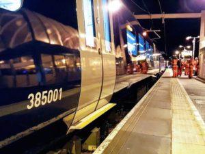 Edinburgh to Glasgow electrification