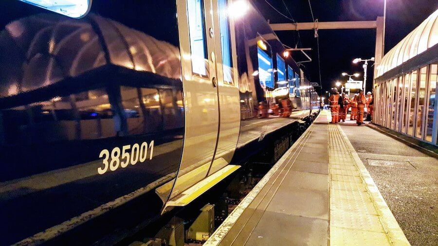 Edinburgh to Glasgow electrification