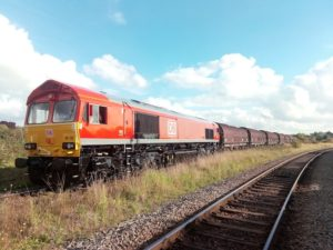 DB Cargo UK Runs Trial Train as Part of Big Development Plans