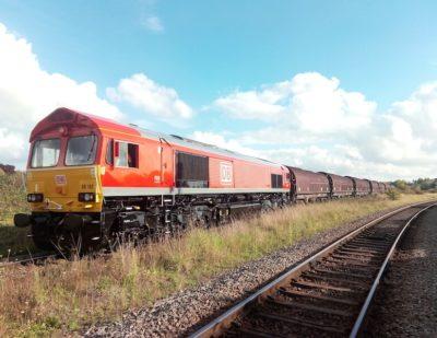 DB Cargo UK Runs Trial Train as Part of Big Development Plans