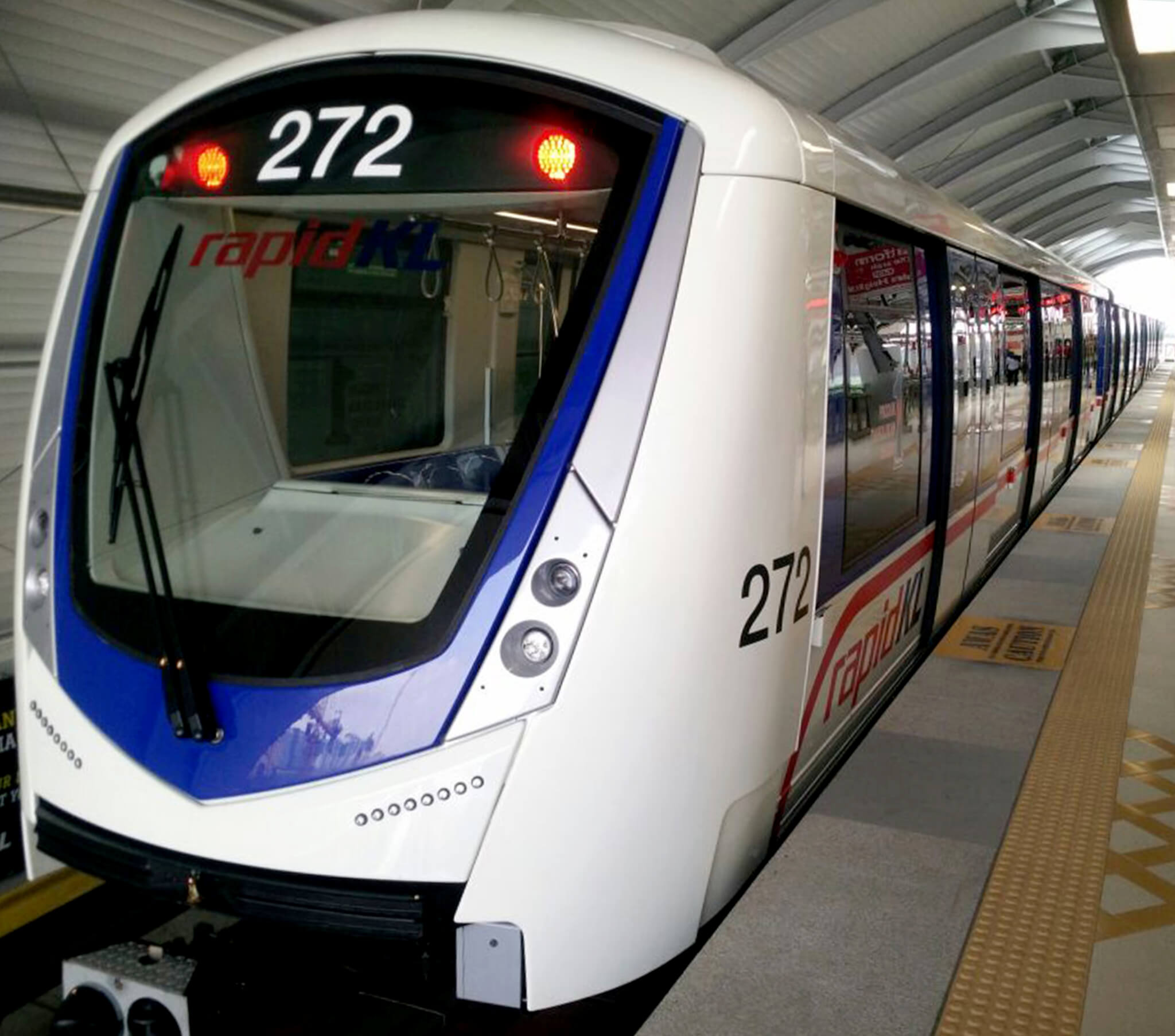 Railway News Metro Car Manufacturers Suppliers Products Automatic Gate Control System With High Speed Alerting Bombardier Completes Delivery Of Driverless Trains For Kuala Lumpur