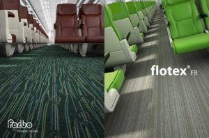Resilient flooring for rail
