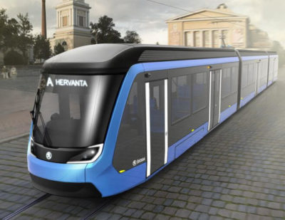 Skoda Transtech Delivers First Tram to Tampere
