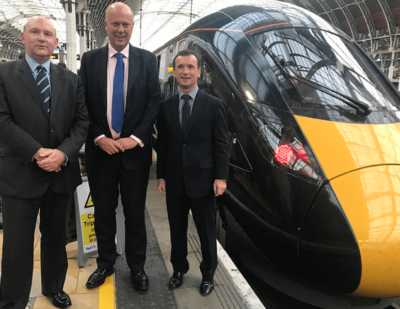 UK's GWR Launches Brand New Intercity Express Train
