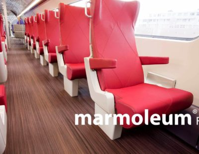 Forbo: The Widest Portfolio of Compliant Floor Coverings for Rail