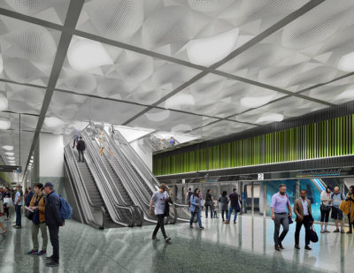 Melbourne's Metro Tunnel Project Turns Its Focus to Station Construction